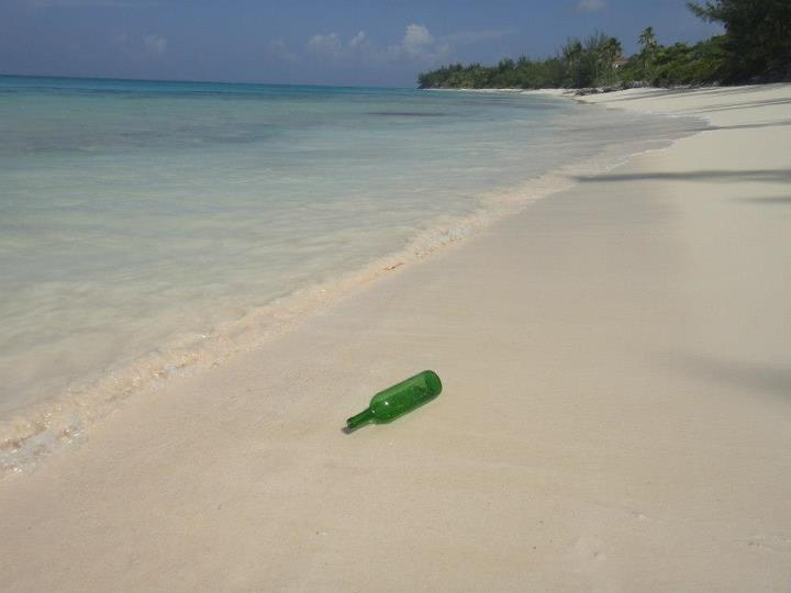 Beautiful Bahamian beach.