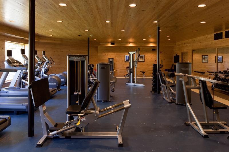 Centro Fitness in loco con diretta TV