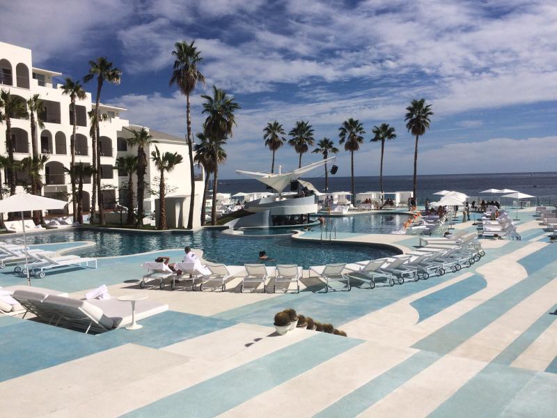 Beautiful pool side