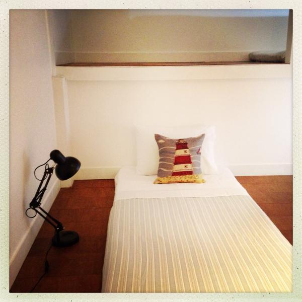 Bedroom 3 upstairs has 4 dorm style sleeping matresses.