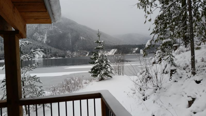 Winter view from the Top Hat, Terrace.  Enjoy morning coffee with this fabulous view!