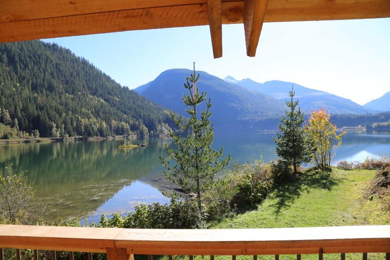Monashee Mountains and Three Valley Lake