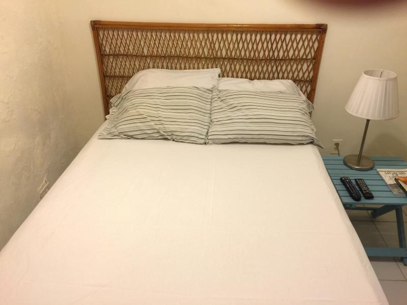 new firm bed in bedroom