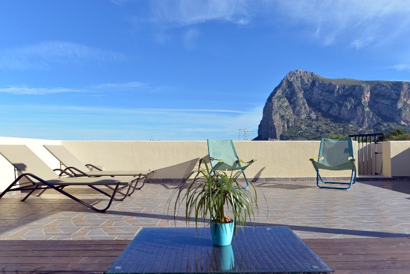 Mira6 - San Vito Lo Capo - 550mt dalla spiaggia - Terrazza Solarium