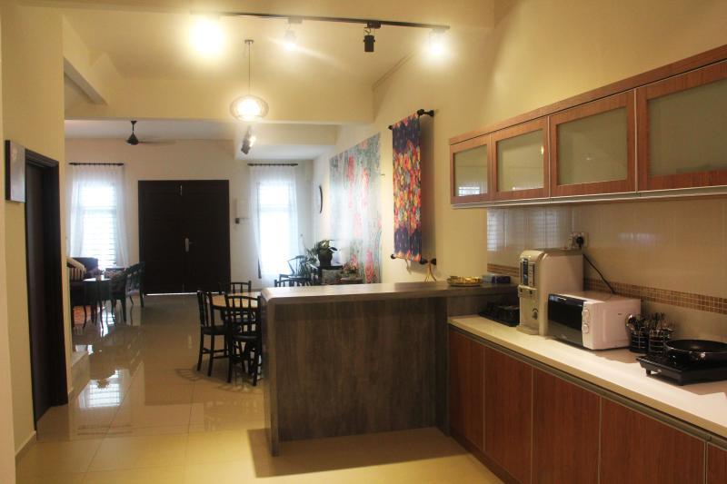 Dinning area kitchen