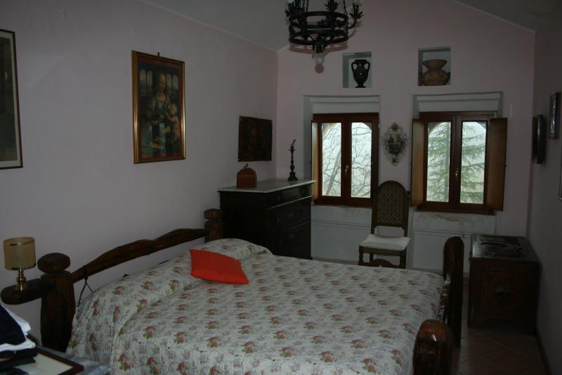 First room-double bed