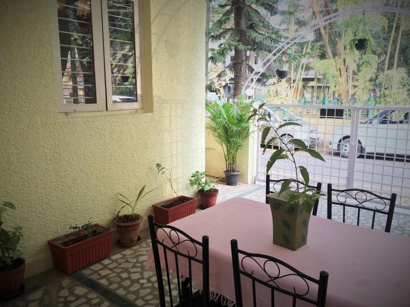 exterior of the house - patio