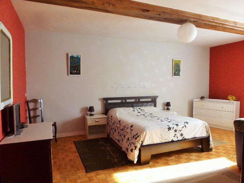 Chambres d'hôtes en B&B (suite 6 à 8 pers)VIHIERS, vacation rental in Saint-Clementin