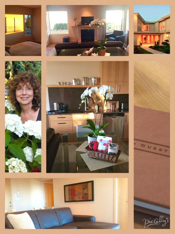 ...a collage. That's me, Faye...your hostess on the left!