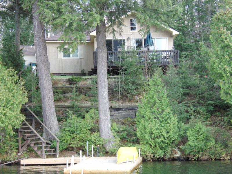 Paradise in Muskoka!  Spectacular property with stunning view and clean clear water for swimming!!!!