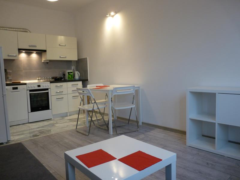 salon et kitchenette