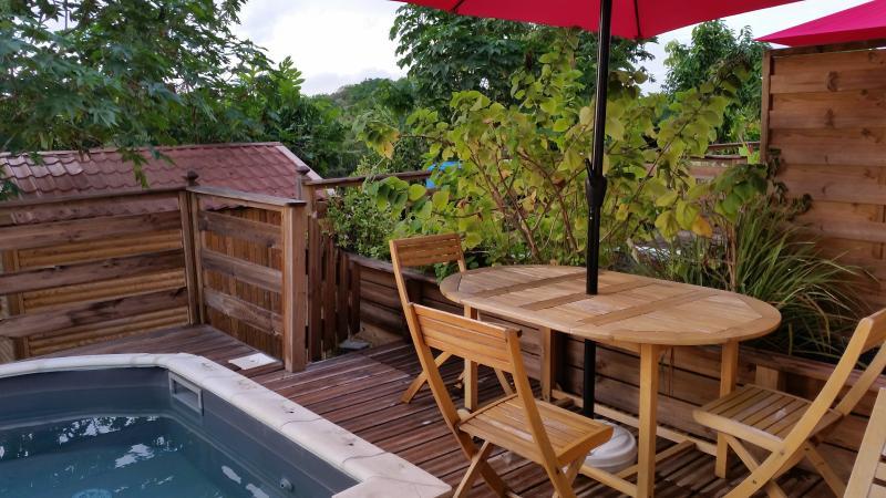 F2 Azur terrasse avec piscine