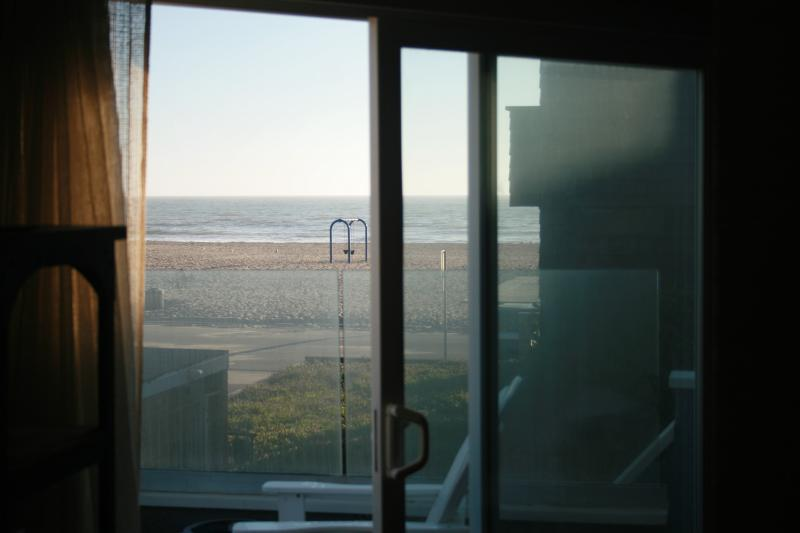 View from the Living Room and Middle Sundeck.