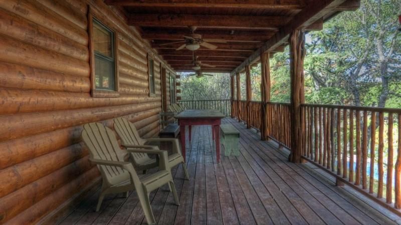 COVERED BACK PORCH  500 SQ FT