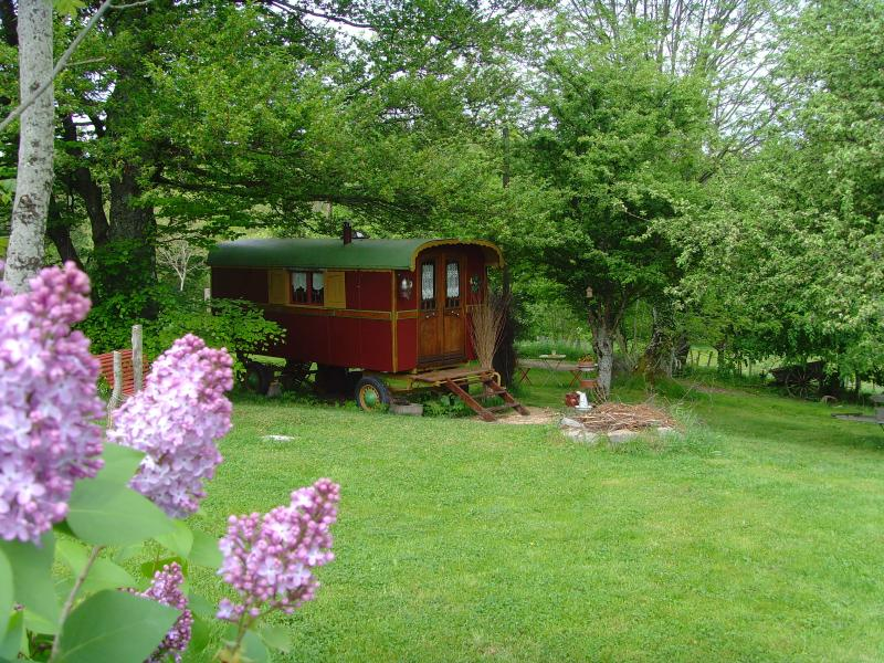 la roulotte des amoureux, holiday rental in Beaujeu