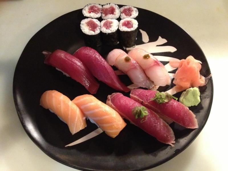 Meilleurs Restaurants de Sushi au monde à seulement 15 minutes en voiture de la maison bleue.