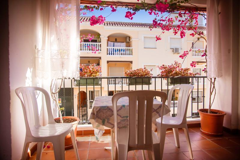 La Maquinilla: la terraza privada al lado del salon
