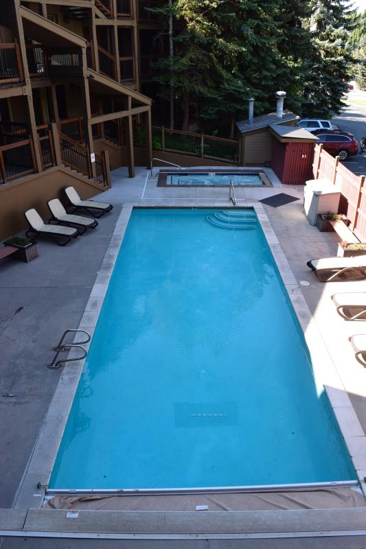 Heated pool and hot tub