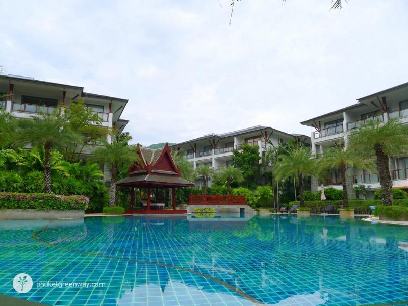 2 bedroom apartments in Pearl of Naithon, 50 meters away from the beach, vakantiewoning in Nai Thon