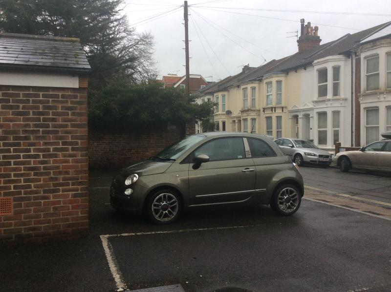 Your own parking space