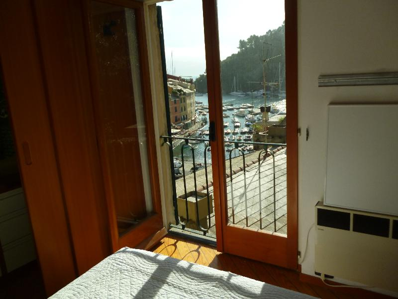 room with seaview square of Portofino