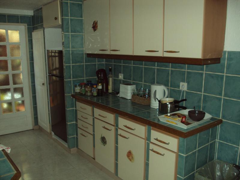 la cuisine côté droit