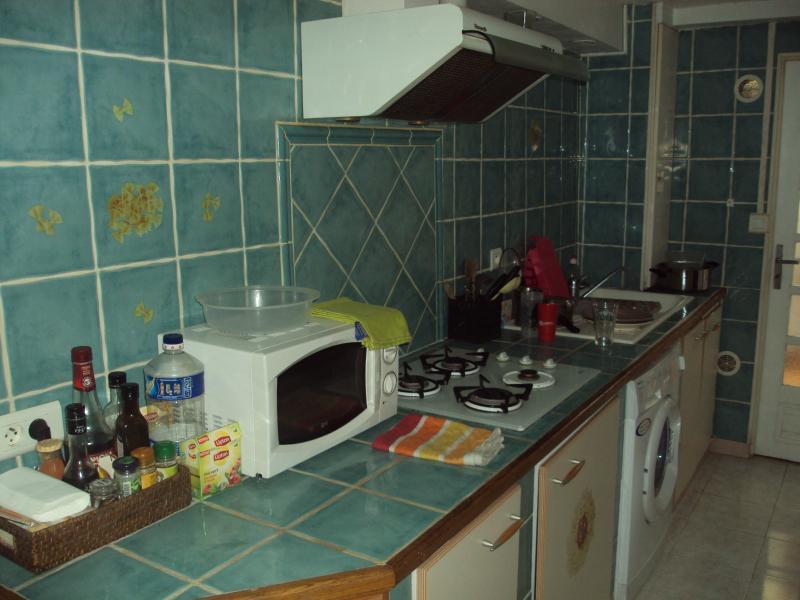 la cuisine côté gauche