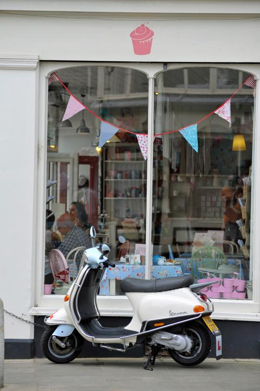 Cupcake Cafe in the Old Town has been visited by HRH, the Queen of England! credit Thanet Tourism