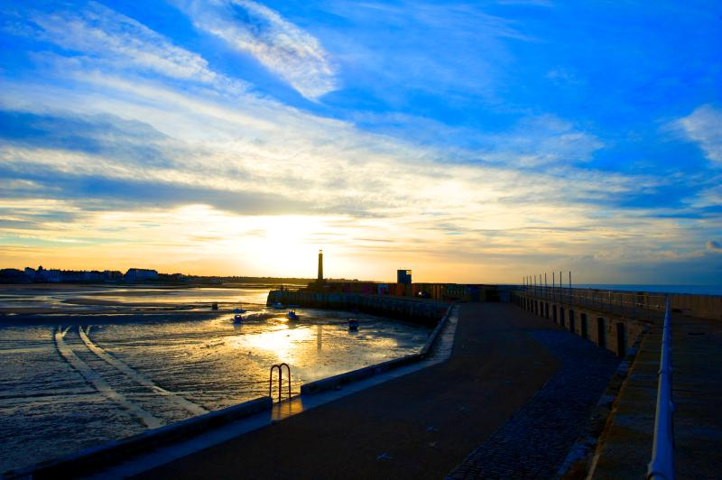 The sunsets in Margate are not to be missed! Margate Harbour Arm - credit Thanet Tourism