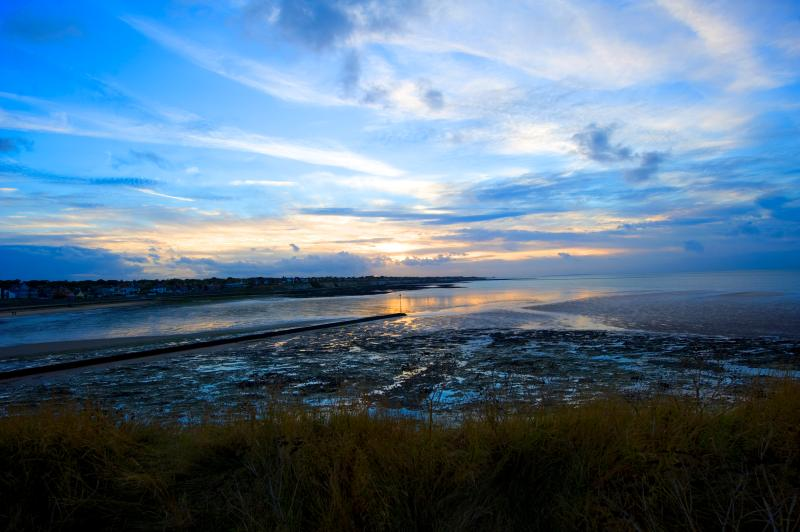 West Bay, Westgate-on-Sea at Sunset next beach along from Westbrook Bay - credit Thanet Tourism