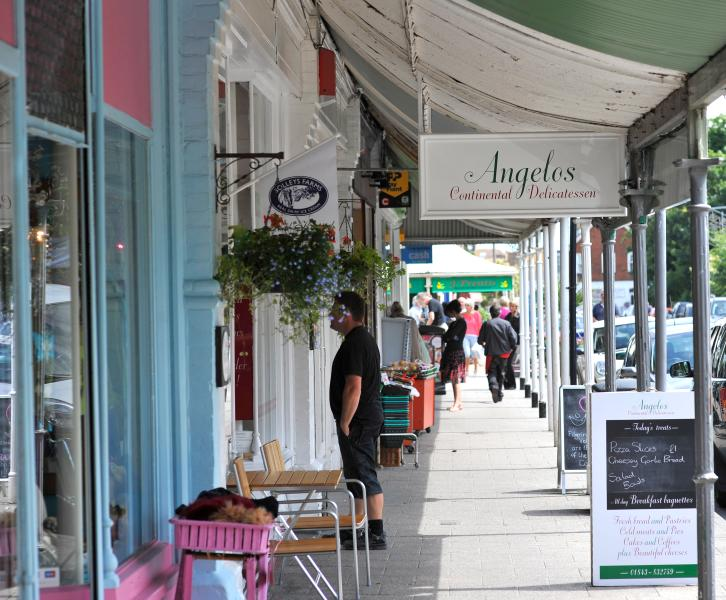 Station Road, Westgate-on-Sea next village along from the Royal Seabathing - credit Thanet Tourism