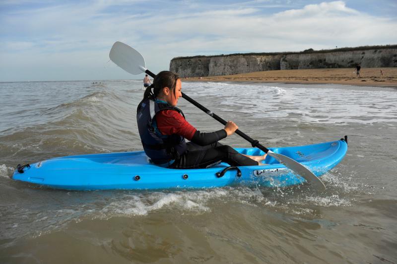 Kayaking Joss Bay - credit Thanet Tourism