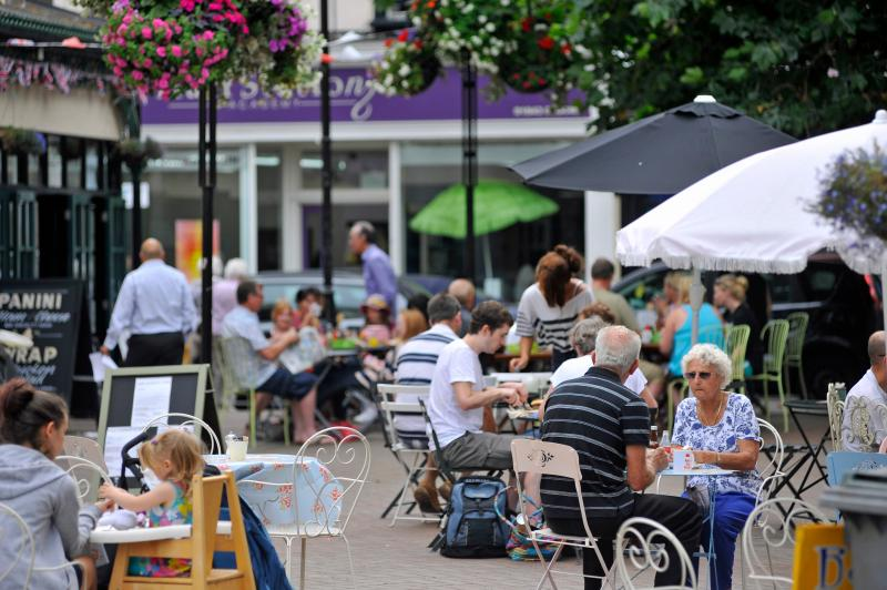 Margate Old Town, plenty of cafes and restaurants to choose from - credit Thanet Tourism