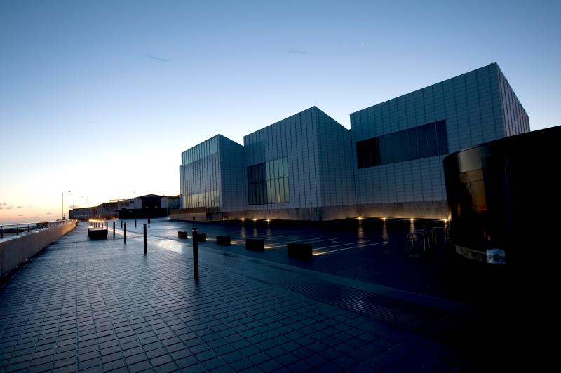 Turner Contemporary Margate at night - credit Thanet Tourism