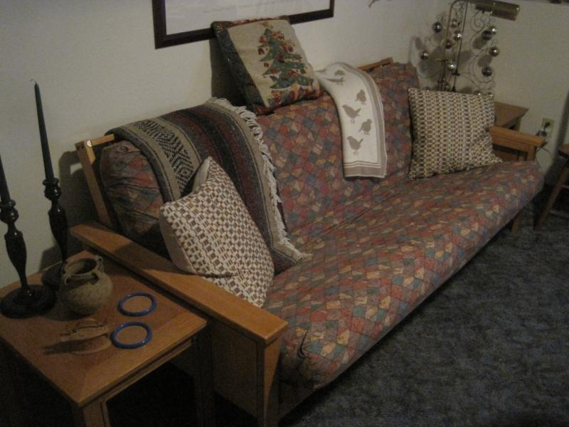 Full sized futon.