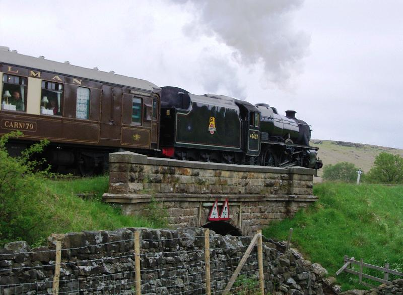 North York Moors Steam railway, Pickering station 15 mins walk from Cottages