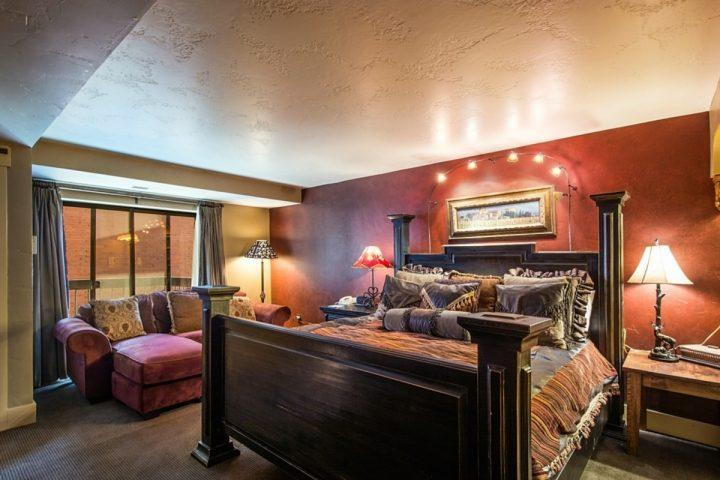 This luxury property features 2 large master bedroom suites with en suite bathrooms.