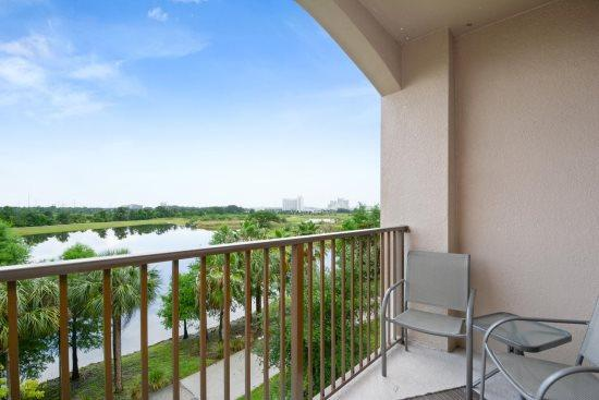 Comfortable seating on your private balcony