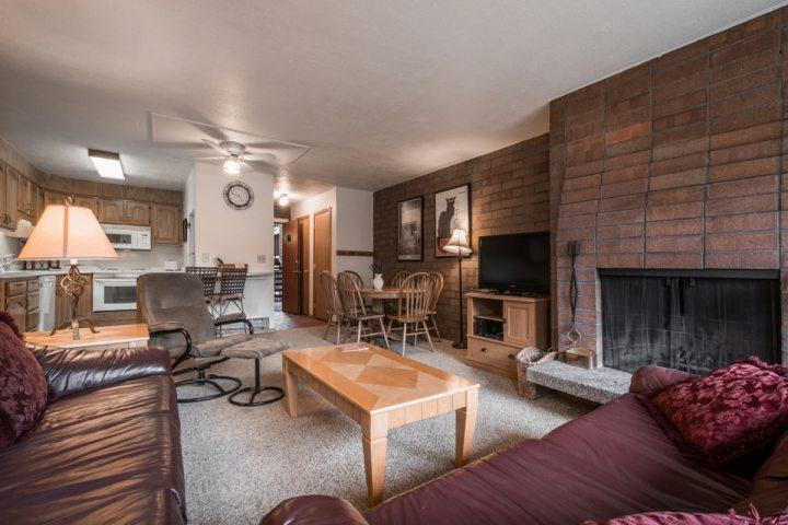 This updated Silvertown Condo is just one block from Park City Mountain Resort in the North Old Town area of Park City.