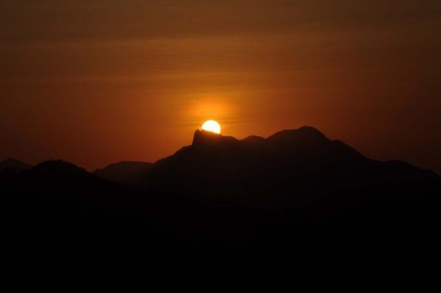 Balcone con una vista dell'alba!