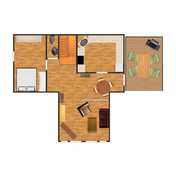 Aufteilung der Räume im OG