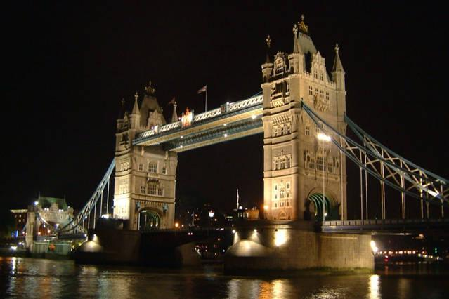 The iconic Tower Bridge - just a stone's throw from the flat