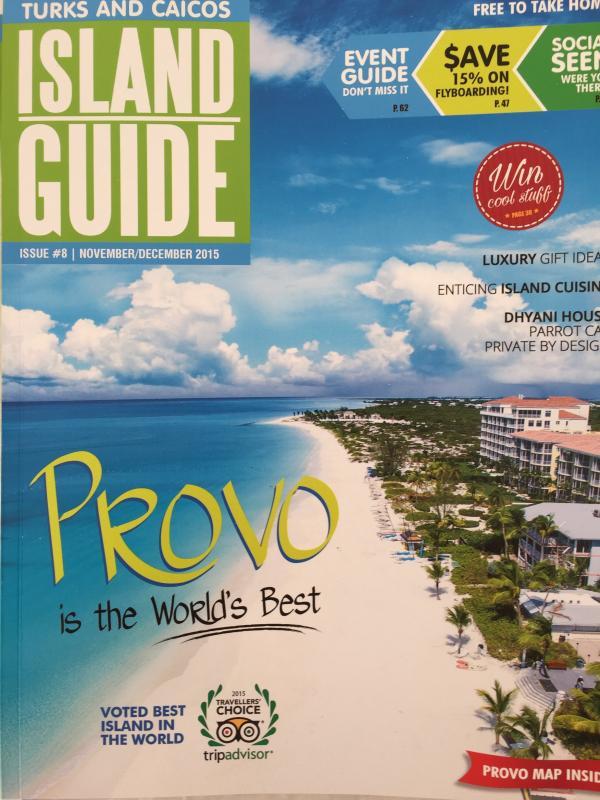 TripAdvisor votou praias do Provo o melhor do mundo!  Bem merecido.