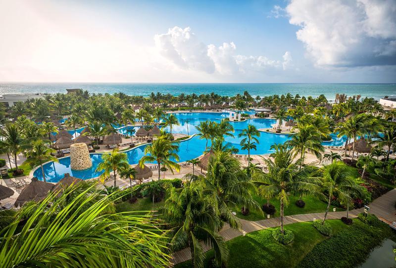 Panorama of resort