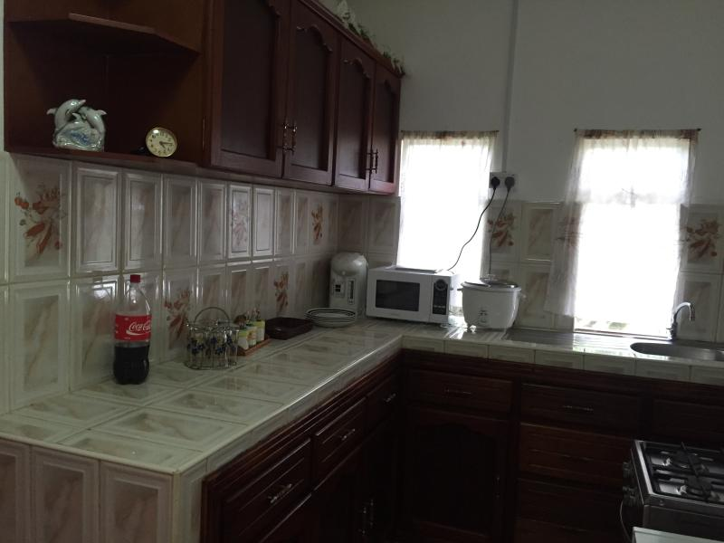you can see you get a large kitchen with all amenities you will need