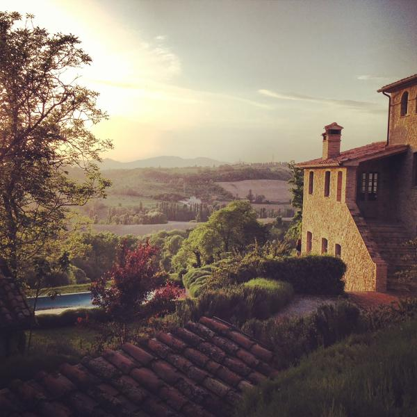 Casa di Luce, Montone, Italy, chic villa, stunning views, vacation rental in Santa Maria di Sette