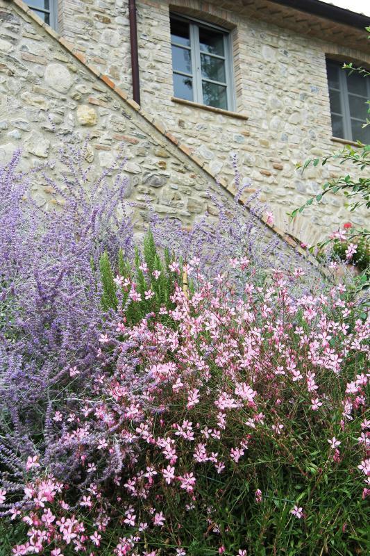 Die Gärten sind schön und reif
