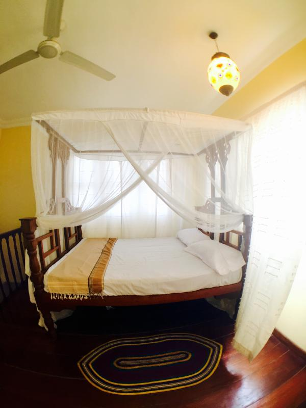 Attic sea views bedroom