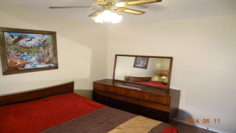 Upper Suite Third Bedroom-Double bed