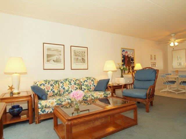 Living Area - Patrician Towers #304